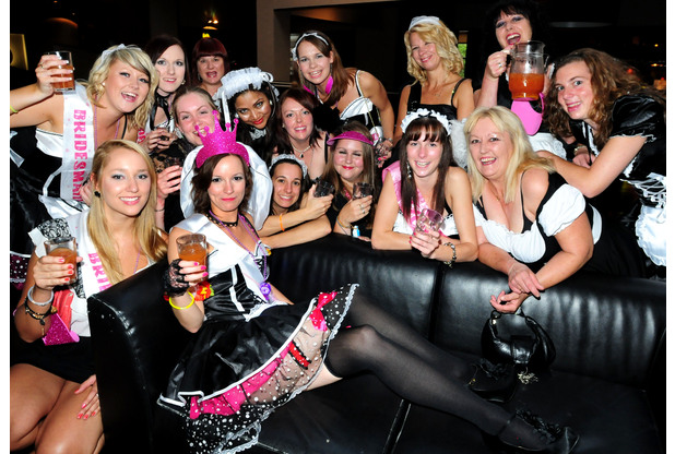 Evening Post bride's Hen night
