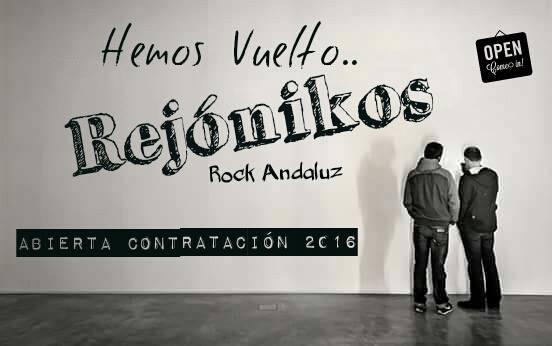 """ABIERTA CONTRATACIÓN """"REJONICOS"""" TOUR 2016"""
