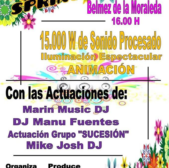 SPRING PARTY BELMEZ DE LA MORALEDA 2016